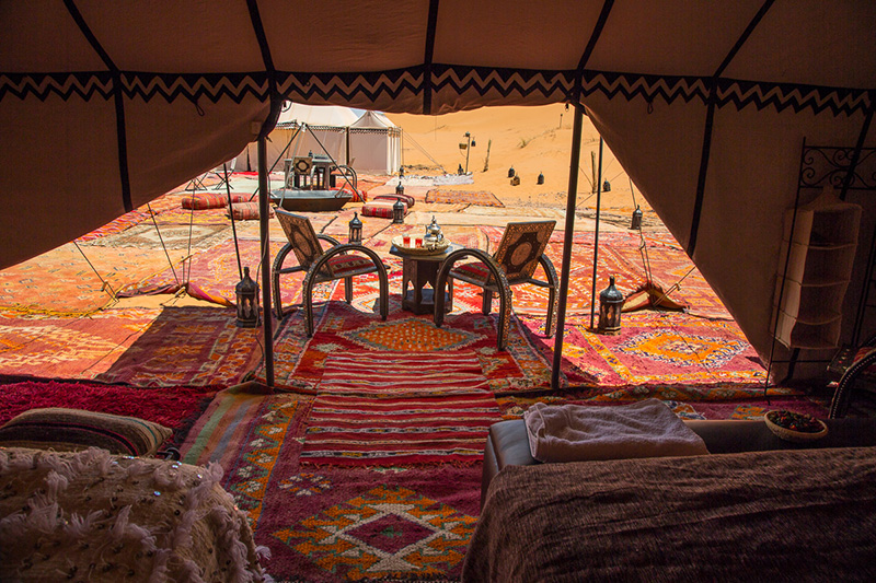 Luxury Desert Camp 1