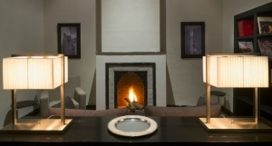 Open fireplace
