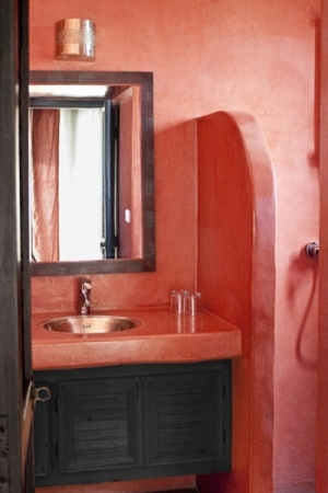 Orange Suite Bathroom